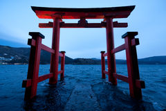 Hakone Torii Imagen de archivo