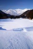 Hakuba village in winter Stock Images