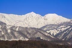 Hakuba village in winter Stock Photos