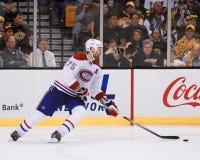 Hal Gill, les Canadiens de Montréal Images stock
