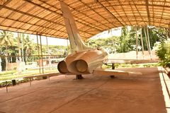 HAL Heritage Centre och rymdmuseum, Bangalore, Karnataka, royaltyfri fotografi