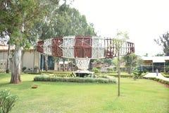 HAL Heritage Centre och rymdmuseum, Bangalore, Karnataka, royaltyfria foton