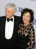 Hal Holbrook and wife Dixie Carter Stock Image