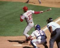 Hal Morris, Cincinnati Reds Fotografia Stock