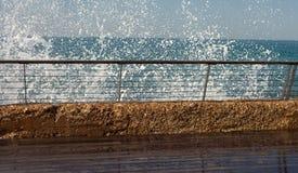 Hal promenad på havet Royaltyfria Bilder