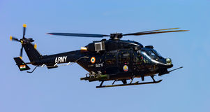 HAL Rudra. Rudra - The army variant of the advanced light helicopter Druv royalty free stock photography