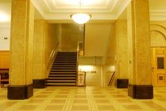 Hal van bibliotheek royalty-vrije stock fotografie