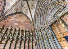 Hal van de Freiburg-Munster Royalty-vrije Stock Afbeeldingen