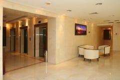 Hal van hotel Royalty-vrije Stock Afbeeldingen