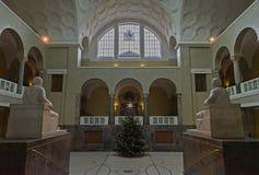 Hal van L M Universiteit in München Stock Foto's