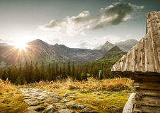 Hala Gasienicowa - Tatra Mountains Zakopane Poland stock photography
