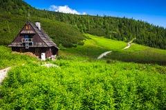 Hala Gasienicowa(Valey Gasienicowa) in Tatra mountains in Zakopa Stock Photo