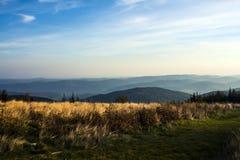 Hala Krupowa. A mountain range in Poland Stock Photography