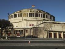 Hala Stulecia (Centennial Hall) also known as Hala Ludowa (Peopl Royalty Free Stock Photography