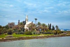 Hala sułtanu Tekke meczet zdjęcia royalty free