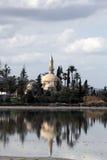 Hala sułtan Tekke Cypr fotografia royalty free