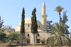 Hala Sultan Tekke. In Cyprus royalty free stock photo