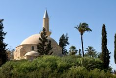 Hala Sultan Tekke Cyprus Royalty Free Stock Photography