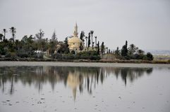 Hala Sultan Tekke in Cyprus Royalty Free Stock Photography