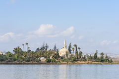 Hala Sultan Tekke mosque Cyprus Royalty Free Stock Photography