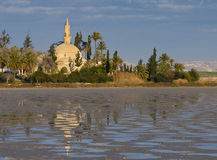 Hala Sultan Tekke Royalty Free Stock Photo