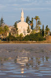 Hala Sultan Tekke Mosque Royalty Free Stock Images