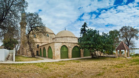 The Hala Sultan Tekke Stock Photography