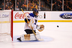 Halak makes a save Royalty Free Stock Image