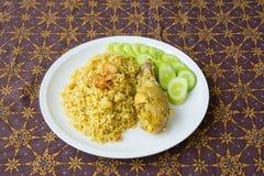 Halal food Arab rice Stock Photography