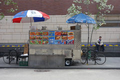 Halal Food Cart Royalty Free Stock Photo