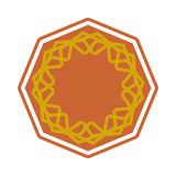 Halal template for Islamic pattern.  Royalty Free Stock Photography