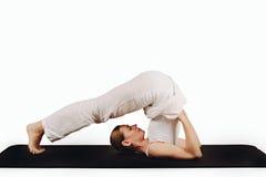 Halasana - pose do arado Imagens de Stock Royalty Free