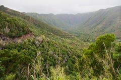 Halawa Valley on Molokai Royalty Free Stock Photos