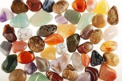 Halb kostbare Steine lizenzfreies stockbild