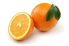 Halb orange und orange Lizenzfreie Stockfotografie