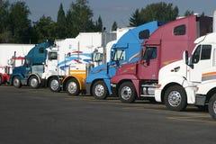Halb Traktoren Lizenzfreies Stockbild