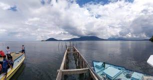 Halbar - Indonésia Timur Fotos de Stock Royalty Free