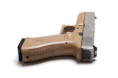 Halbautomatische 9mm Pistole Stockbild