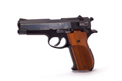 Halbautomatische Pistole Lizenzfreie Stockfotografie