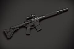 Halbautomatisches Gewehr des Angriffs Lizenzfreies Stockfoto