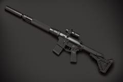 Halbautomatisches Gewehr des Angriffs Stockbilder