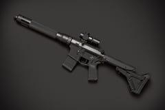 Halbautomatisches Gewehr des Angriffs Lizenzfreie Stockfotos