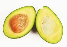 Halbe Avocados Lizenzfreies Stockbild
