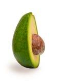 Halbe Avocatofrucht mit einem Samen Lizenzfreie Stockbilder