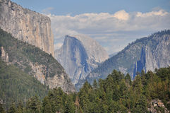 Halbe Haube in Yosemite Stockbilder
