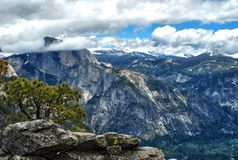 Halbe Haube in Yosemite Nationalpark, Kalifornien USA stockfotos