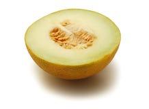 Halbe Melone Stockbild