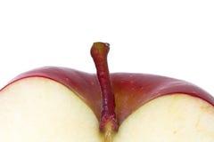 Halber Apfel Stockbild