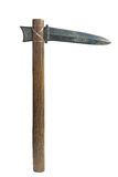 The halberd is an ancient weapon royalty free stock photography