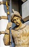 Halberdier Royalty Free Stock Image